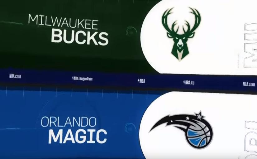Bucks vs Magic[zapowiedź]